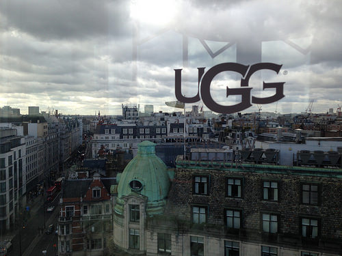 Ugg's London Fashion Week